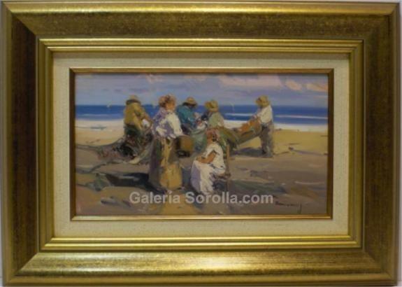 Casarrubios: Figuras en la playa