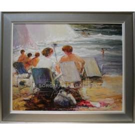 Antonio Segrelles: Figuras en la playa