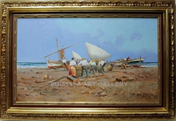 Juan Araez: Pescadores