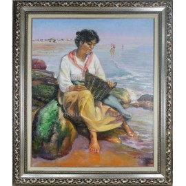 Rafael Atencia: fisherwoman