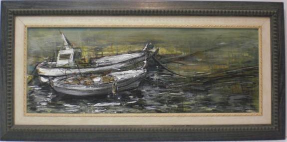 Escuela Sorolla: Barcas
