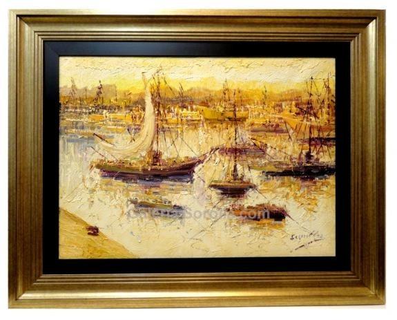 Antonio Segrelles: Vista de Puerto