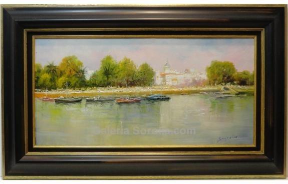 Antonio Segrelles: Vista de rio