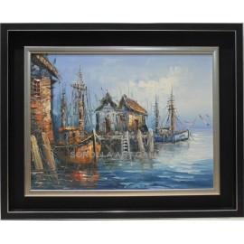 Escuela Holandesa: Boats
