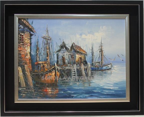 Escuela Holandesa: Barcos