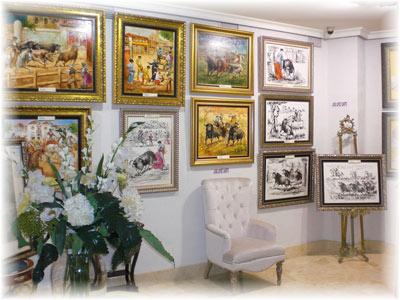 Cuadros de paisaje y pinturas al óleo en tu galería de arte en Sevilla