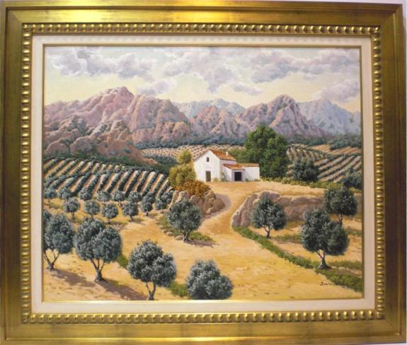 Comprar arte online:Olivos