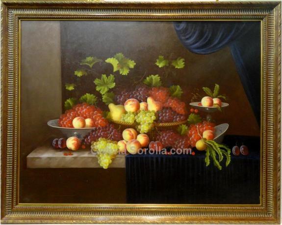 Cristian snchez bodegon clsico venta de cuadros en la for Cuadros estilo clasico