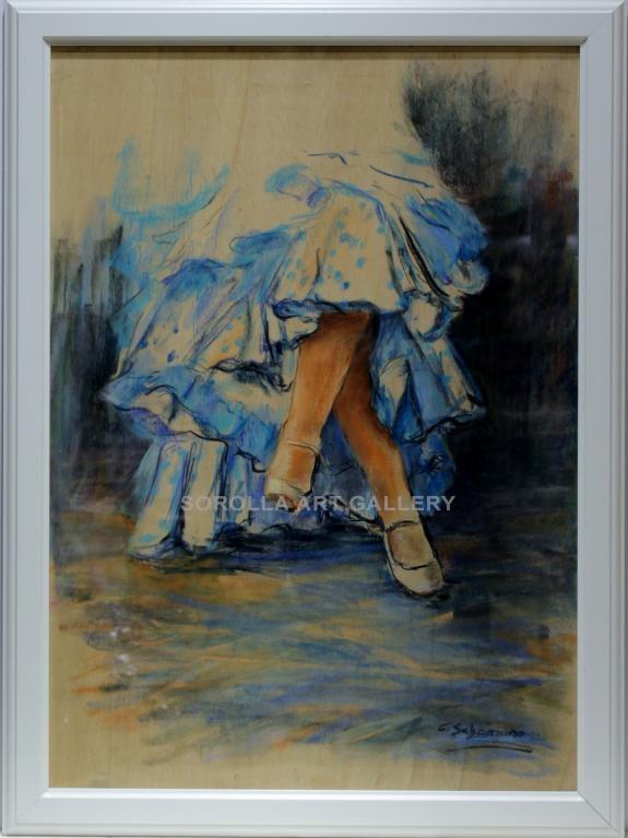 Carmen shaman piernas flamenca venta de cuadros en la for Comprar cuadros bonitos